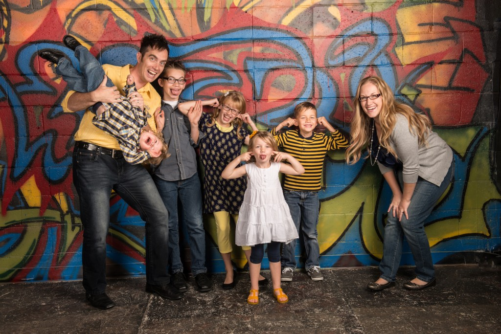 silly family foto on wall 2015 smaller size